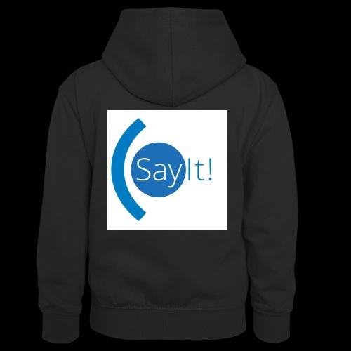 Sayit! - Kids' Contrast Hoodie