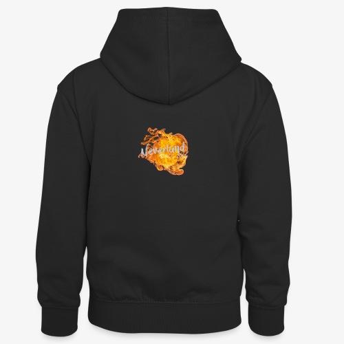 NeverLand Fire - Teenager contrast-hoodie/kinderen contrast-hoodie