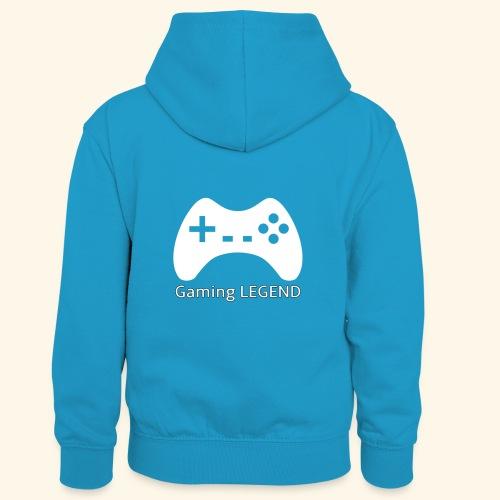 Gaming LEGEND - Teenager contrast-hoodie/kinderen contrast-hoodie