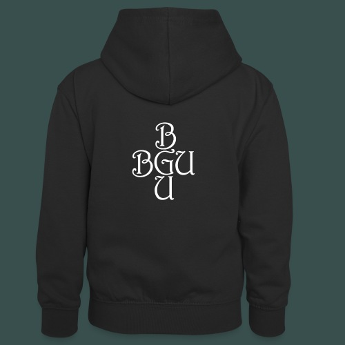 BGU - Kinder Kontrast-Hoodie
