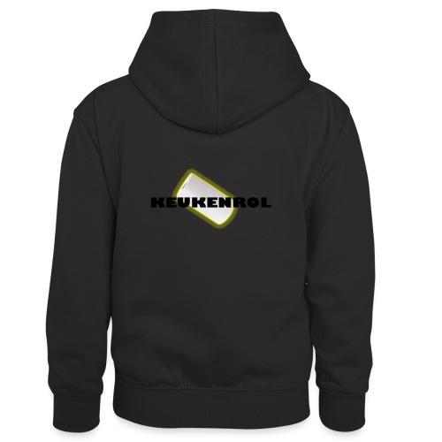 Keukenrol - Teenager contrast-hoodie/kinderen contrast-hoodie