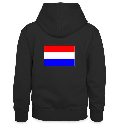 vlag nl - Teenager contrast-hoodie/kinderen contrast-hoodie