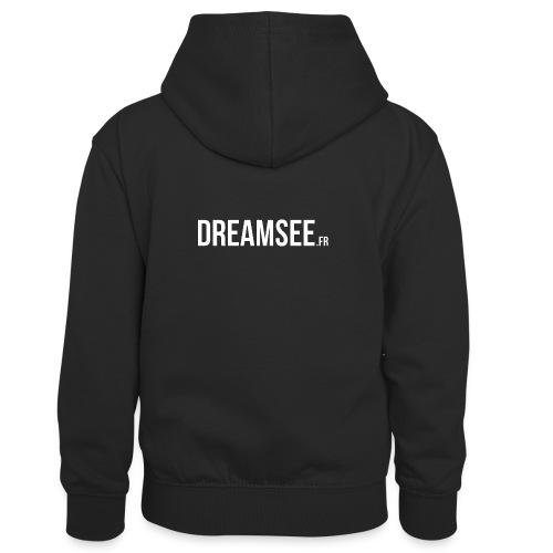 Dreamsee - Sweat à capuche contrasté Enfant