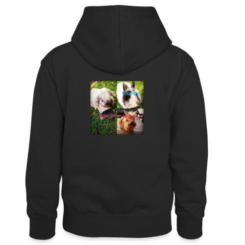 Mygoodanimallife - Teenager contrast-hoodie/kinderen contrast-hoodie