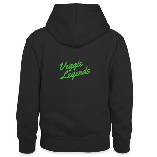 Veggie Legends - Kids' Contrast Hoodie