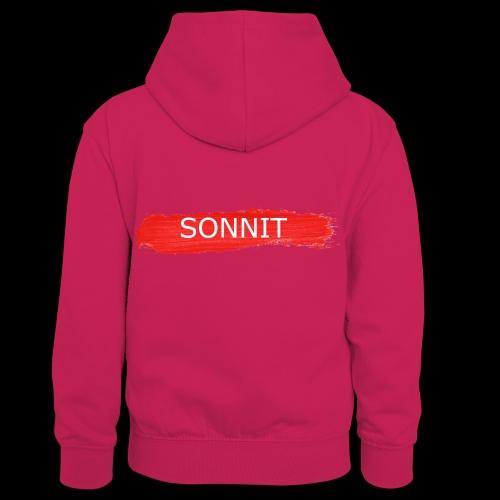Sonnit Paint Splodge - Kids' Contrast Hoodie