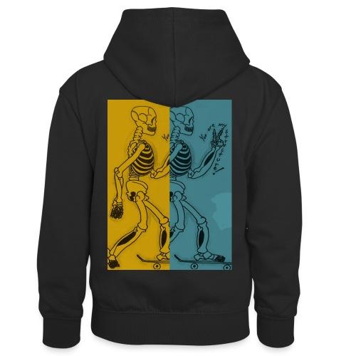 Esqueleto skater: You are my structure! - Sudadera con capucha para niños
