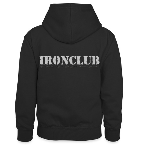 IRONCLUB - a way of life for everyone - Kontrast-hettegenser for barn