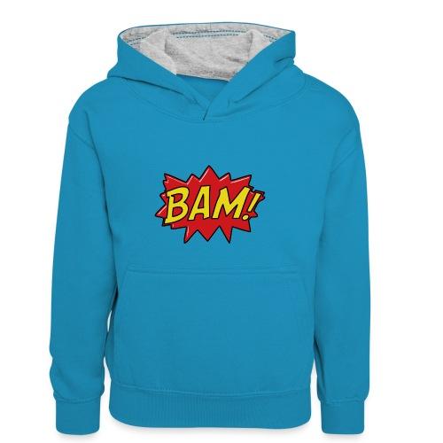 bamtamelijk - Teenager contrast-hoodie/kinderen contrast-hoodie