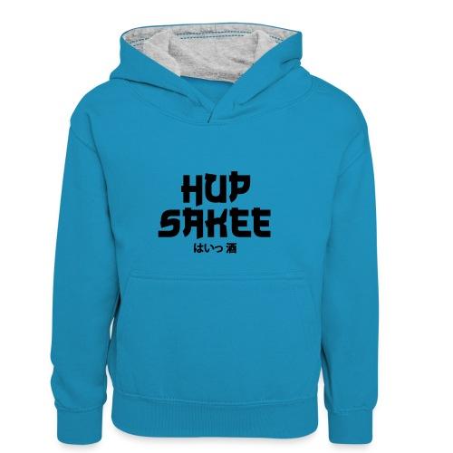 Hup Sakee - Teenager contrast-hoodie/kinderen contrast-hoodie