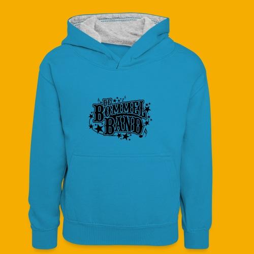 bb logo - Teenager contrast-hoodie/kinderen contrast-hoodie