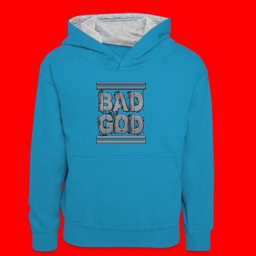 BadGod - Kids' Contrast Hoodie