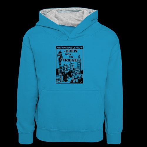 A Brew from the Fridge v2 - Kids' Contrast Hoodie