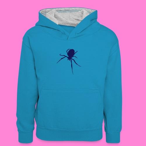 Spin Spider - Teenager contrast-hoodie/kinderen contrast-hoodie