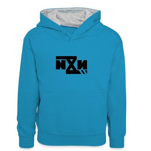 N8N Bolt - Teenager contrast-hoodie/kinderen contrast-hoodie
