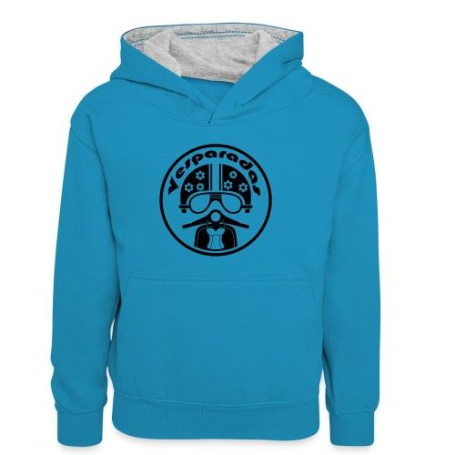 Vesparadas - Teenager contrast-hoodie/kinderen contrast-hoodie