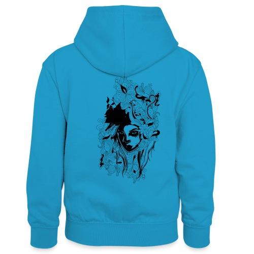 Akasacian tshirt design 611 - Sudadera con capucha para niños