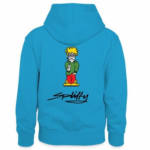 spliffy2 - Kids' Contrast Hoodie
