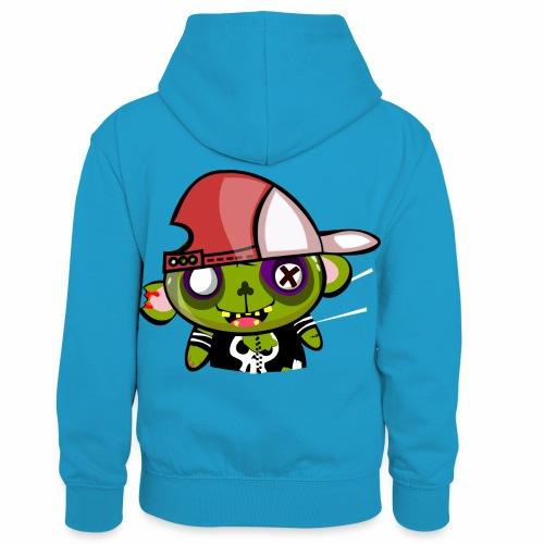 zombie hiphop - Sudadera con capucha para niños