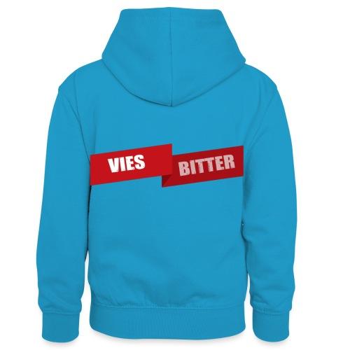 Vies Bitter - Teenager contrast-hoodie/kinderen contrast-hoodie