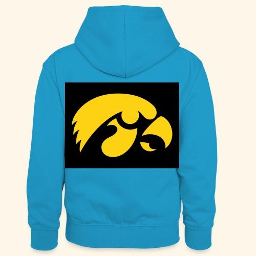 YellowHawk shirt - Teenager contrast-hoodie/kinderen contrast-hoodie