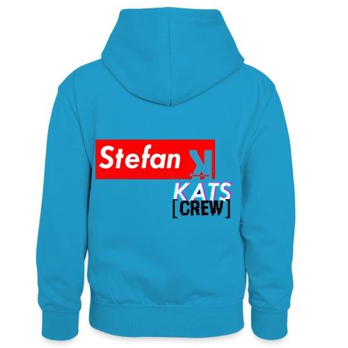Stefan Sup - Dziecięca bluza z kontrastowym kapturem
