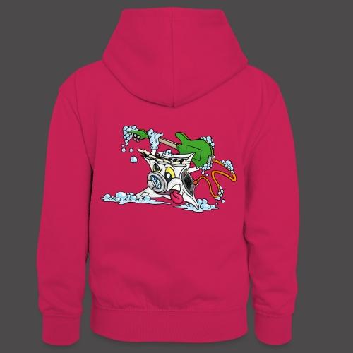 Wicked Washing Machine Wasmachine - Teenager contrast-hoodie/kinderen contrast-hoodie
