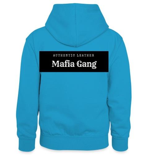 Mafia Gang - Nouvelle marque de vêtements - Sweat à capuche contrasté Enfant