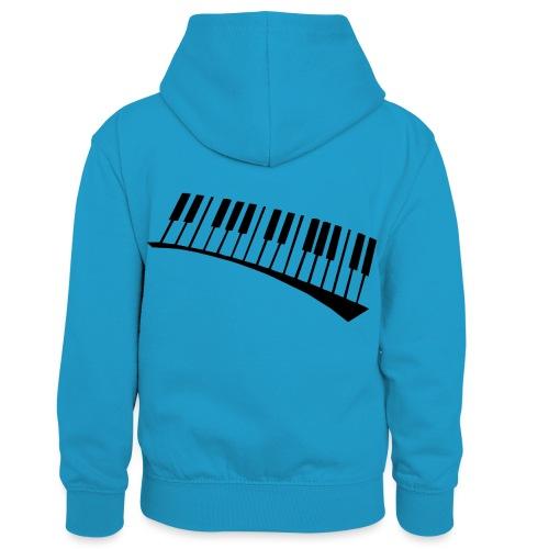 Piano - Sudadera con capucha para niños