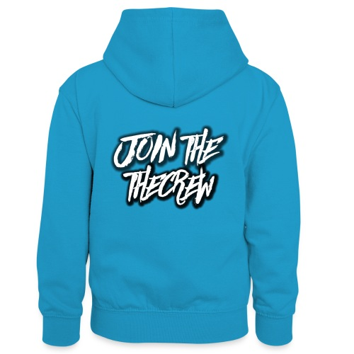 Join The Crew (MORE JOIN THE CREW MERCH SOON) - Kids' Contrast Hoodie