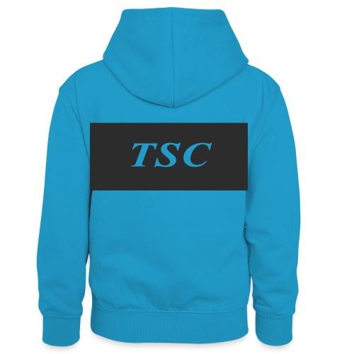 TSC Design - Kids' Contrast Hoodie