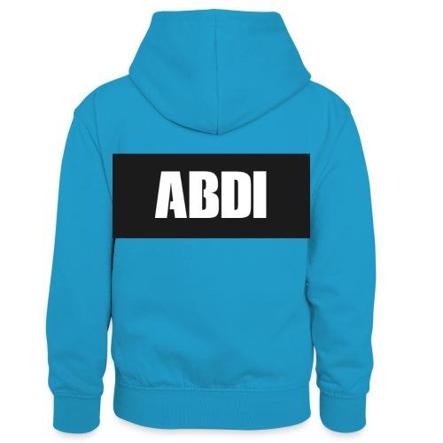 Abdi - Kids' Contrast Hoodie