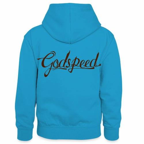 Godspeed 2 - Lasten kontrastivärinen huppari