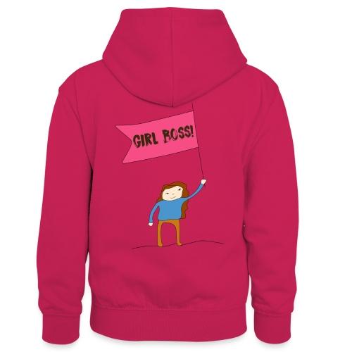 Gurl boss - Sudadera con capucha para niños