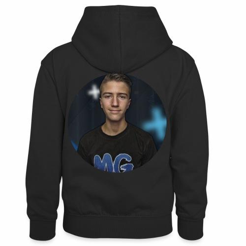Design blala - Teenager contrast-hoodie/kinderen contrast-hoodie
