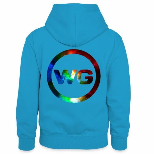 wout games - Teenager contrast-hoodie/kinderen contrast-hoodie