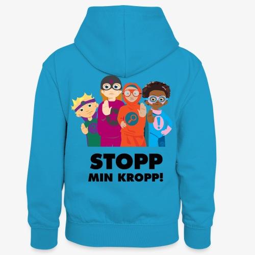 Stopp min kropp! - Kontrastluvtröja barn