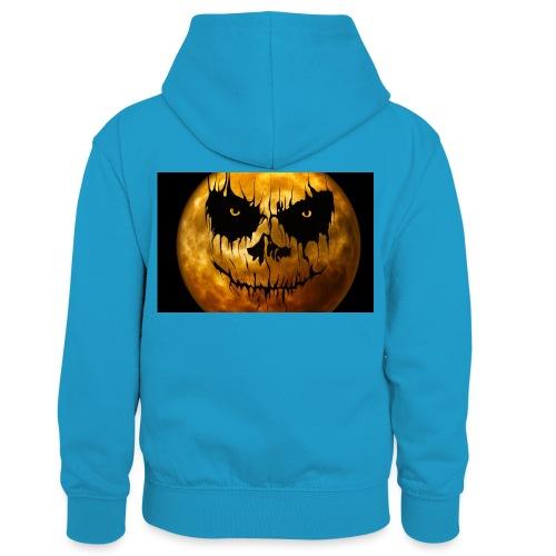 Halloween Mond Shadow Gamer Limited Edition - Kinder Kontrast-Hoodie