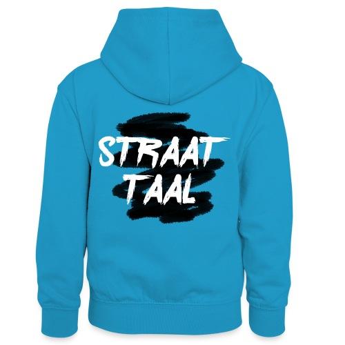Kleding - Teenager contrast-hoodie/kinderen contrast-hoodie