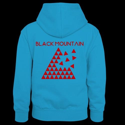 Black Mountain - Sweat à capuche contrasté Enfant