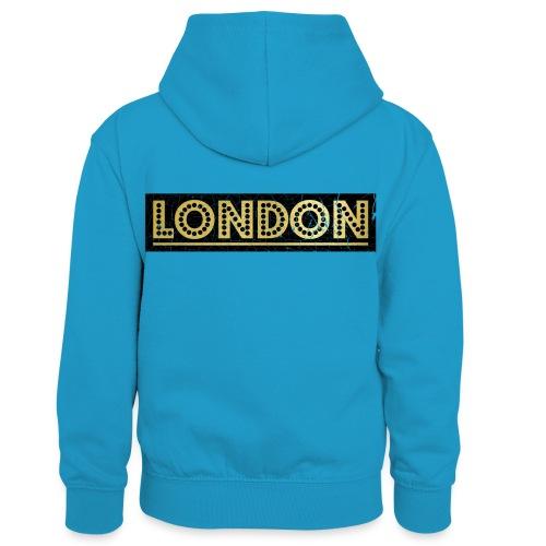 LONDON - Kids' Contrast Hoodie