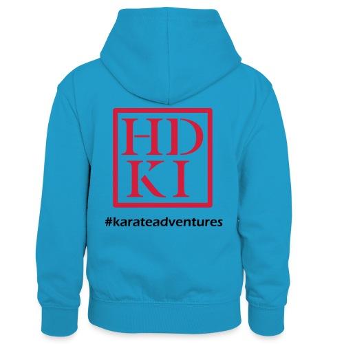 HDKI karateadventures - Kids' Contrast Hoodie