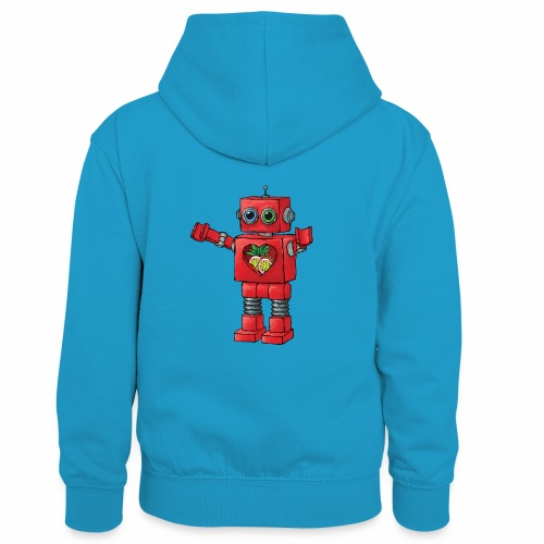 Brewski Red Robot IPA ™ - Kids' Contrast Hoodie