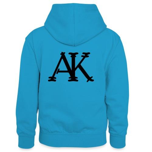 Brand logo - Teenager contrast-hoodie/kinderen contrast-hoodie