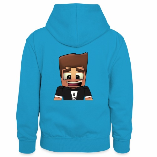 DayzzPlayzz Shop - Teenager contrast-hoodie/kinderen contrast-hoodie
