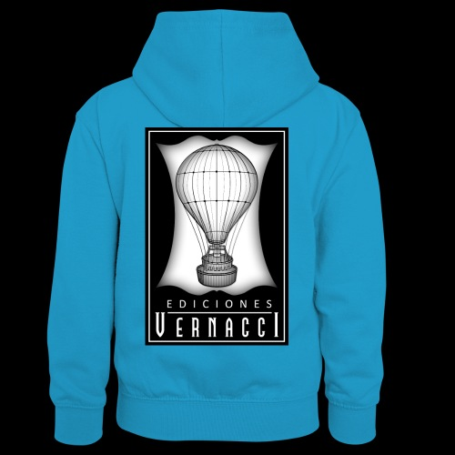 logotipo de ediciones Vernacci - Sudadera con capucha para niños
