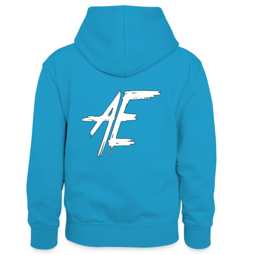 AsenovEren - Teenager contrast-hoodie/kinderen contrast-hoodie