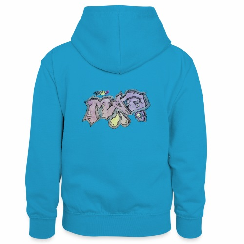 Life Is Mad TM Collaboration - Kids' Contrast Hoodie