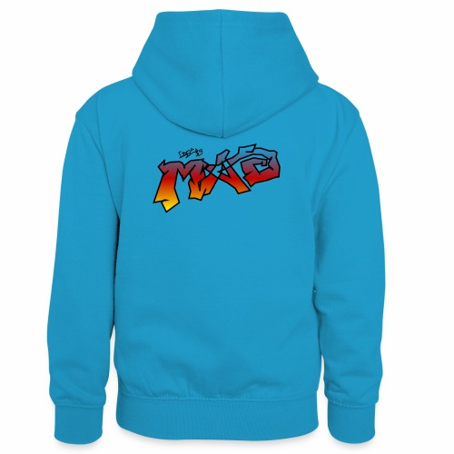 Life Is MAD CGI Makeover TM collaboration - Kids' Contrast Hoodie