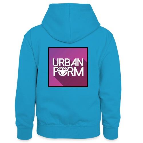 Logo URBAN FORM - Sweat à capuche contrasté Enfant